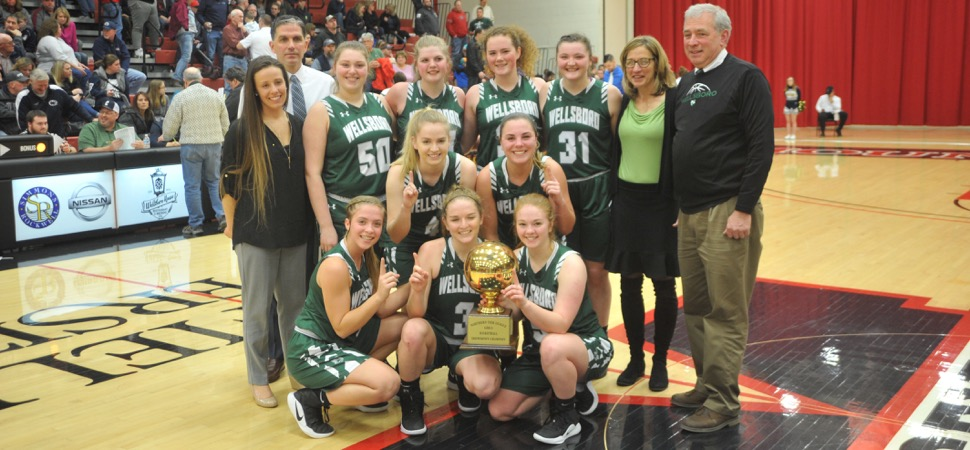 Wellsboro Girls Basketball District/League Championships
